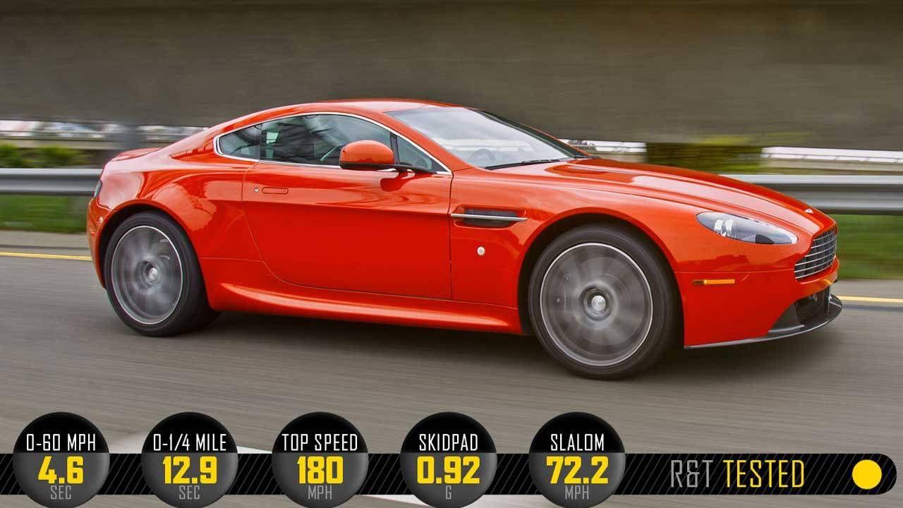 2012 Aston Martin V8 Vantage Review Specs Price And Photos Roadandtrack Com