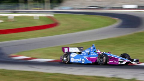Driving Racing Car >> Dario Franchitti Gets Wired To Discover The Physical