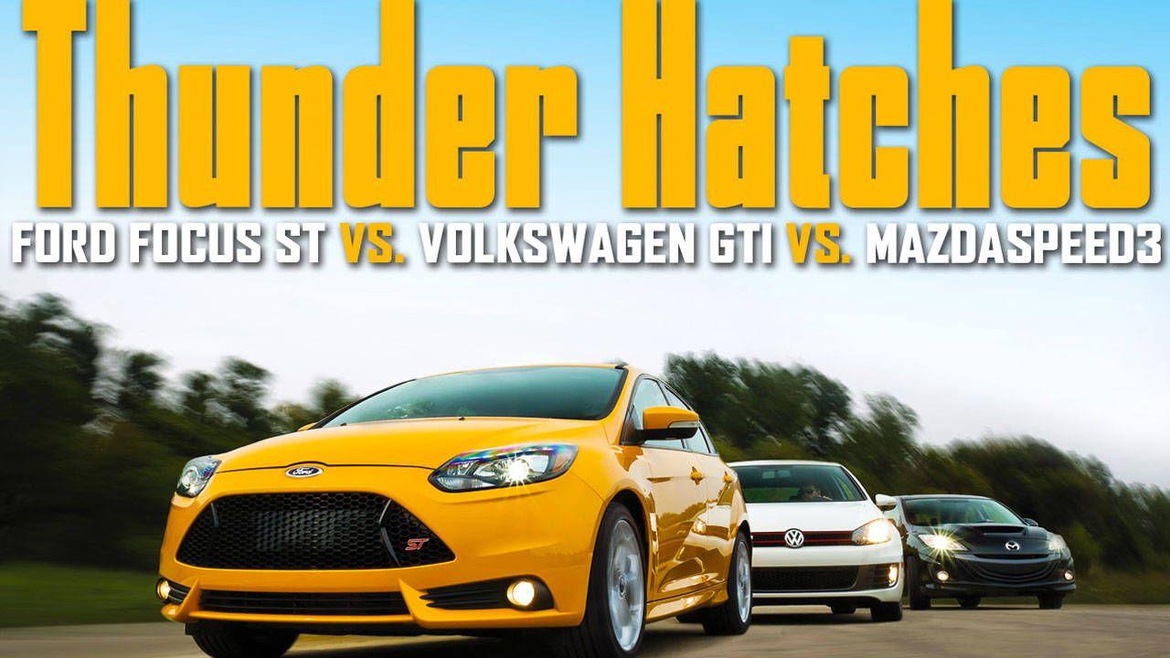 Volkswagen gti vs mazdaspeed 3