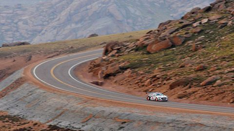 Mountainous landforms, Road, Automotive exterior, Road surface, Slope, Rallying, Asphalt, Valley, Bedrock, Highway,
