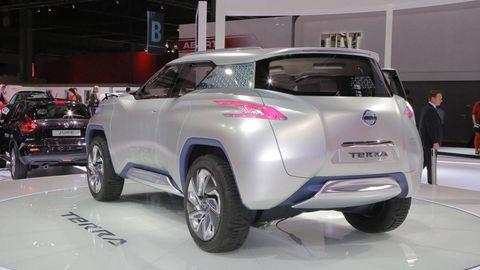 Nissan Terra Suv Concept Photos And News 2012 Paris Auto Show