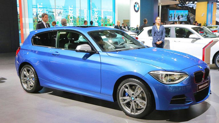 BMW Series Door And Door Hatchbacks Paris Auto - Bmw 1 series 2014