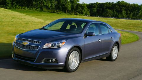 2013 Chevrolet Malibu Turbo First Drive Malibu Turbo Price