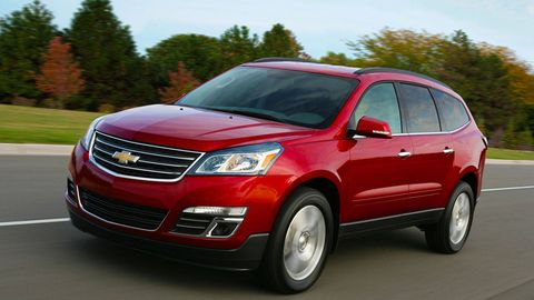 2013 Chevrolet Traverse First Drive Chevy Traverse Price And