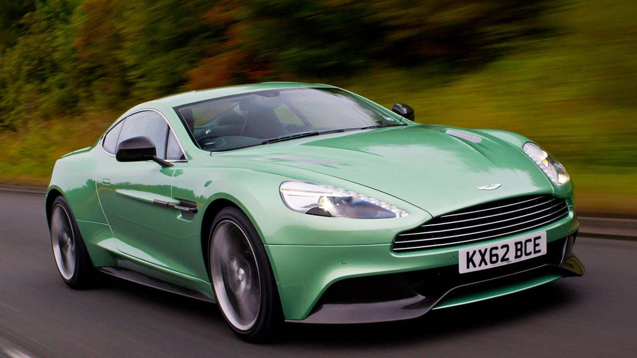2014 Aston Martin Vanquish First Drive Review Price Specs and Photos