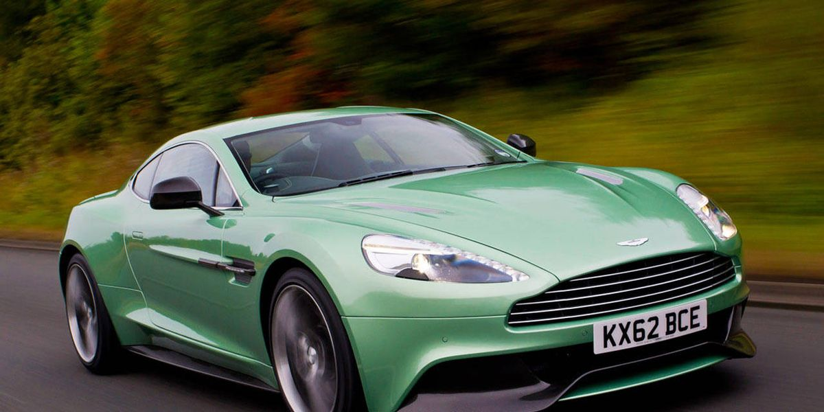 Aston Martin Vanquish First Drive Review Price Specs And Photos - Aston martin coupe