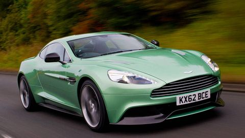 Aston Martin Vanquish First Drive Review Price Specs And Photos - How much do aston martins cost