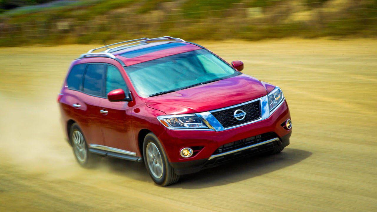 2013 Nissan Pathfinder Suv Review New Pathfinder Design Pathfinder Pricing Mpg Rating Performance And Specs Roadandtrack Com