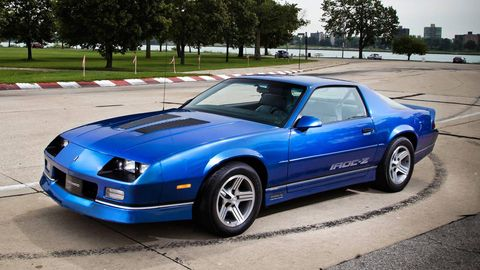 1989 Chevrolet Camaro Iroc Z 1le Classic Drive Review