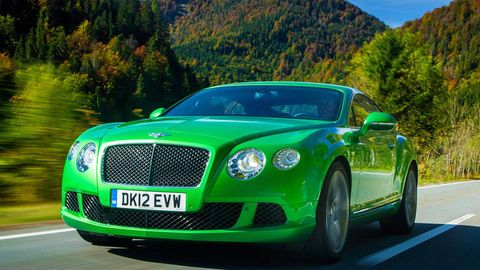 2013 Bentley Continental Gt Speed First Drive Specs Top Speed 205 Mph