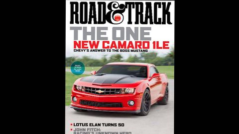 road  track december 2012 cover