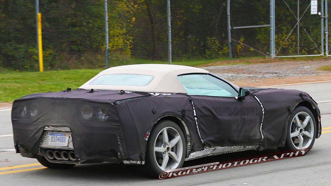 2014 Chevrolet Corvette Convertible Caught Testing - C7 ...