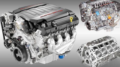 2014 Chevrolet C7 Corvette V-8 Engine Specs Revealed