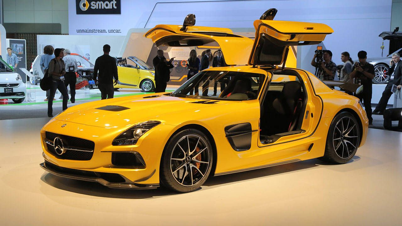 first look 2014 mercedes benz sls amg black series video clip