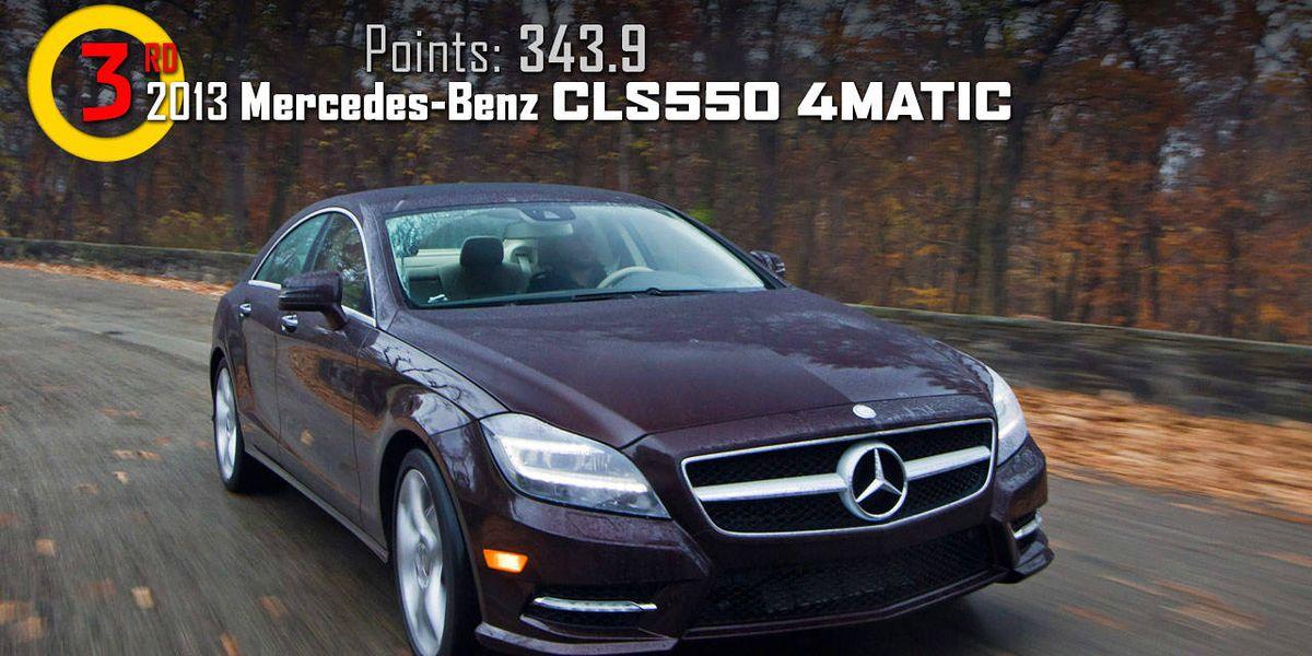 2013 MercedesBenz CLS550 4MATIC