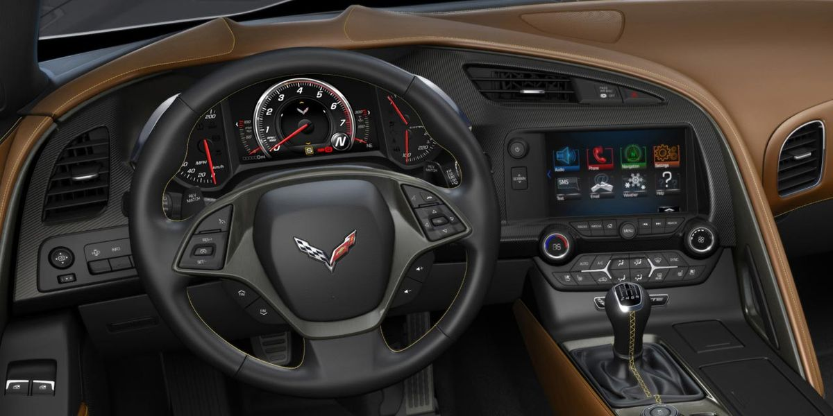 Why The C7 Corvette Has A Manual Shifter And Steering
