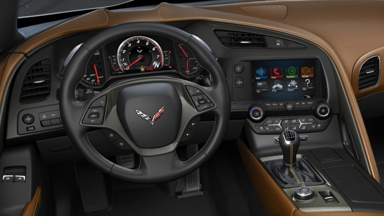 Ever Since The First Images Of The 2014 Chevrolet Corvette Interior Came  Out, One Thing Struck Me Us Being Odd: The Steering Wheel Has Paddles On  It, ...