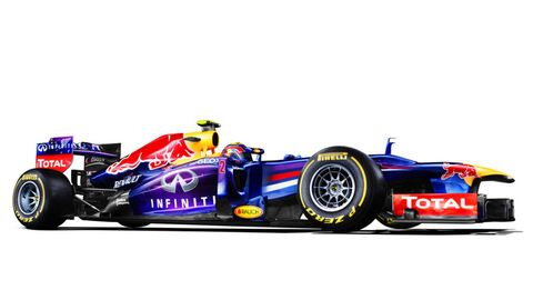 The Red Bull RB9's final engine start is better than coffee