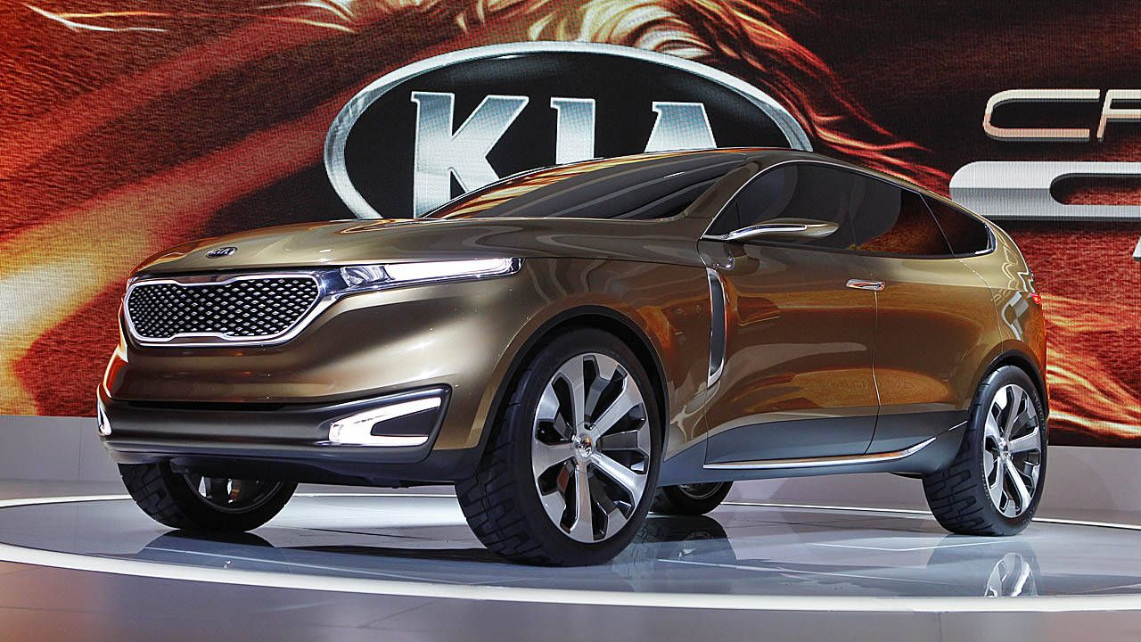 Live Photos: Kia Cross GT Concept