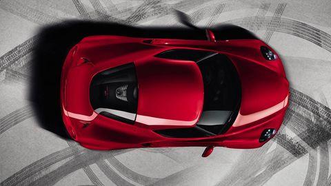 Automotive design, Car, Red, Automotive exterior, Supercar, Sports car, Carmine, Luxury vehicle, Concept car, Performance car,