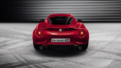 Automotive design, Mode of transport, Vehicle, Vehicle registration plate, Car, Automotive lighting, Red, Performance car, Supercar, Sports car,