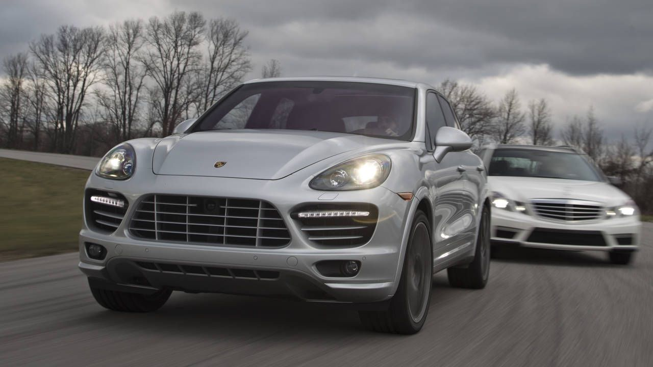 Worksheet. Comparison Porsche Cayenne Turbo vs MercedesBenz E63 AMG Wagon