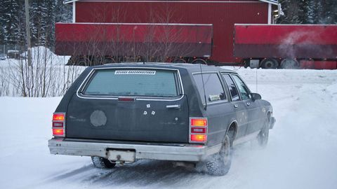 Whats a caprice wagon doing in finland the vehicle to be determined and purchased the only requirements are that it be big and american candidate 1 a 1987 chevrolet caprice wagon publicscrutiny Choice Image