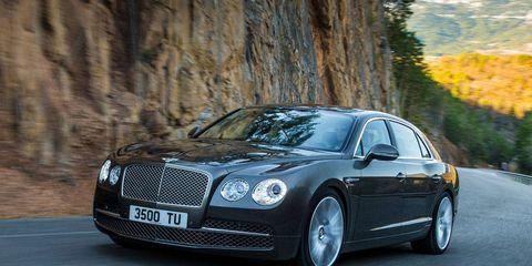 Tire, Automotive design, Vehicle, Land vehicle, Road, Car, Rim, Grille, Bentley, Personal luxury car,