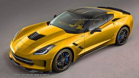 Imagining the next Corvette ZR1