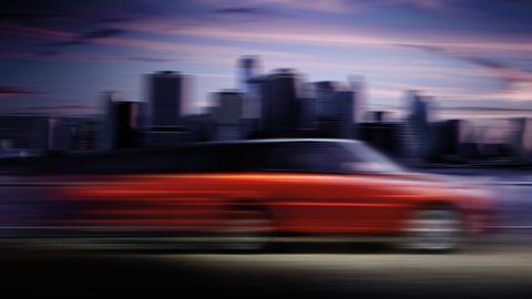 Automotive design, City, Automotive exterior, Automotive lighting, Cityscape, Urban area, Horizon, Metropolitan area, Dusk, Metropolis,