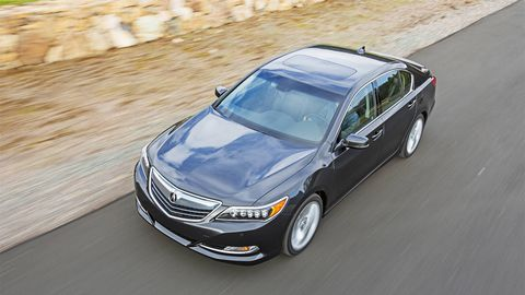 The New Acura Rlx Is Perplexing Unlike Its Predecessor Rl It Doesn T Have All Wheel Drive S Not Even Offered That Means A Loaded