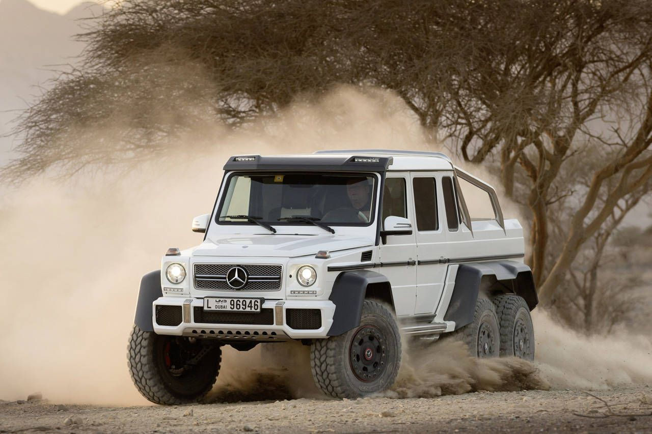 G63 Amg 6x6 Specifications Released