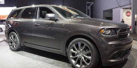 Photos Of The Dodge Durango In New York Pictures Of The - Durango car show