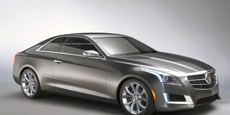 Rendered: 2014 Cadillac CTS Coupe - Imagining a new 2-door CTS