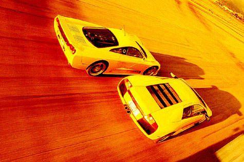 Power Trip - 2003 Audi RS 6 vs  2003 Mercedes-Benz E55 AMG