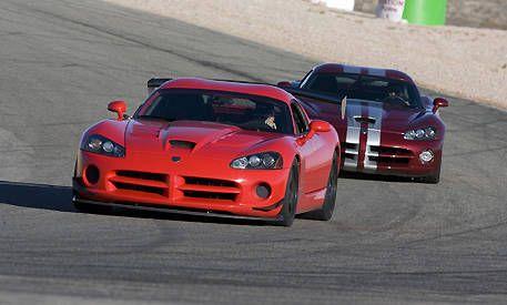 Evil Twins Dodge Viper Srt10 Vs Srt10 Acr