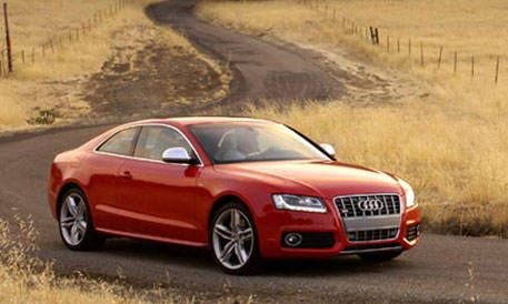 Top 20 New Cars For 2008 Audi S5