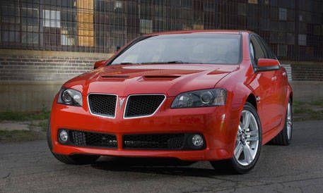 Top 20 New Cars For 2008 Pontiac G8