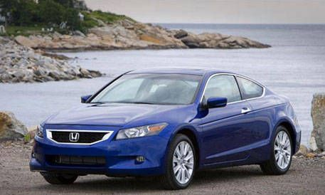 Honda Accord Coupe 2008 >> Top 20 New Cars For 2008 Honda Accord Coupe