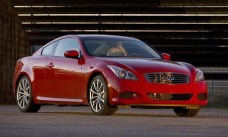 Top 20 New Cars For 2008 Infiniti G37 Coupe