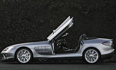 Top 20 New Cars For 2008 Mercedes Benz Slr Mclaren Roadster