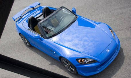 Top 20 New Cars For 2008 Honda S2000 Cr