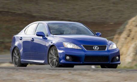 Ultimate Sedan Comparison 2008 Lexus Is F