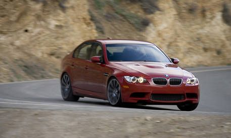 Ultimate Sedan Comparison: 2008 BMW M3 Sedan