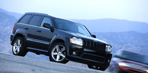 Chariots With Fire 2006 Jeep Grand Cherokee Srt8
