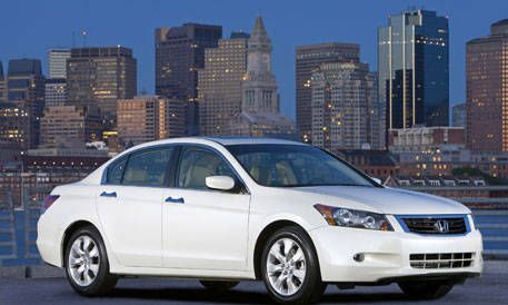 10 most popular cars of the year 2009 honda accord sedan for Honda accord base model