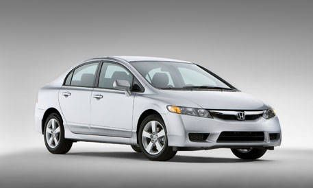 10 Most Popular Cars Of The Year 2009 Honda Civic