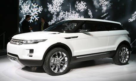 Land Rover Lrx Cross Coupe
