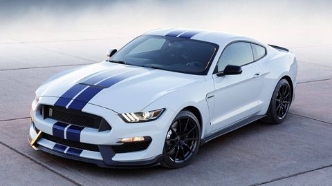 The 2016 Ford Mustang Shelby Gt350 Has An 8200 Rpm Redline
