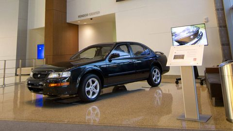 Nissan completes restoration of \'96 Maxima it bought from some guy ...